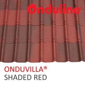 1 ONDUVILLA SHADED RED